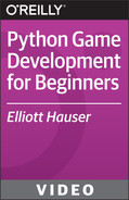 Book cover for Python Game Development for Beginners