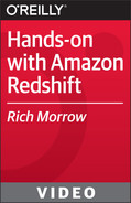 Book cover for Hands-on with Amazon Redshift