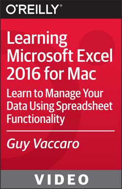 Learning Microsoft Excel 2016 for Mac