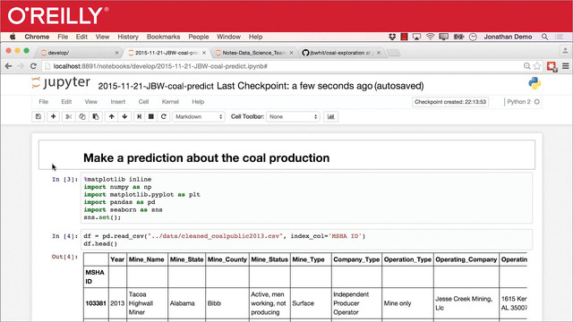 Jupyter Notebook for Data Science Teams