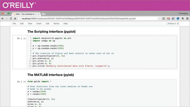 Matplotlib for Developers