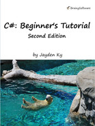 Cover of C#: A Beginner's Tutorial, Second Edition