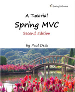 Cover of Spring MVC: A Tutorial (Second Edition)