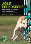 Cover of Agile Foundations - Principles, practices and frameworks