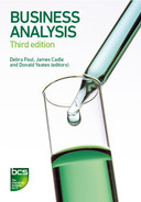 Cover of Business Analysis - Third edition