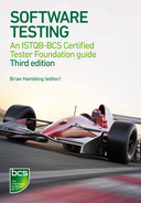Cover of Software Testing - An ISTQB-BCS Certified Tester Foundation guide 3rd edition