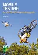 Cover of Mobile Testing: An ASTQB-BCS Foundation guide