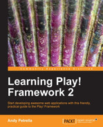 Cover of Learning Play! Framework 2