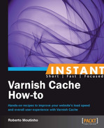 Cover of Instant Varnish Cache How-to