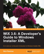 Cover of WiX 3.6: A Developer's Guide to Windows Installer XML