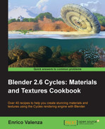 Cover of Blender 2.6 Cycles: Materials and Textures Cookbook
