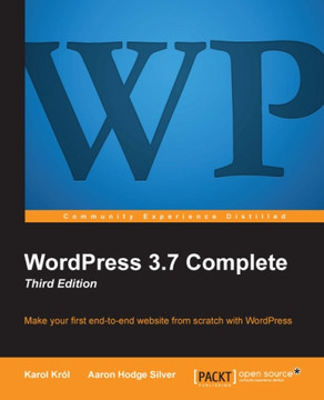 WordPress 3.7 Complete Third Edition