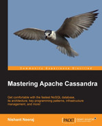 Cover of Mastering Apache Cassandra
