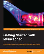 Cover of Getting Started with Memcached