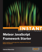 Cover of Instant Meteor JavaScript Framework Starter