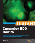 Cover of Instant Cucumber BDD How-to