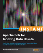 Cover of Instant Apache Solr for Indexing Data How-to
