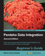 Cover of Pentaho Data Integration Beginner's Guide