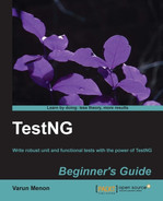 Cover of TestNg Beginner's Guide