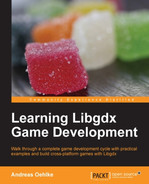 Cover of Learning Libgdx Game Development