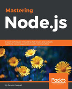 Cover of Mastering Node.js