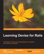 Cover of Learning Devise for Rails