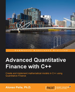 Cover of Advanced Quantitative Finance with C++
