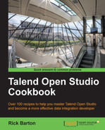 Cover of Talend Open Studio Cookbook