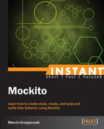 Cover of Instant Mockito