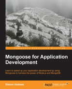 Cover of Mongoose for Application Development
