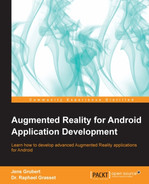 Cover of Augmented Reality for Android Application Development