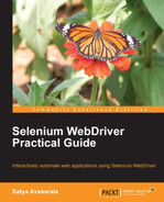 Cover of Selenium WebDriver Practical Guide