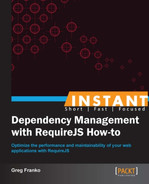 Cover image for Instant Dependency Management with RequireJS How-to