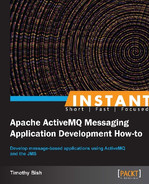 Cover of Instant Apache ActiveMQ Messaging Application Development How-to