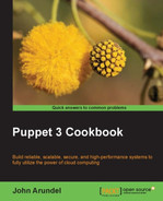 Cover of Puppet 3 Cookbook