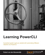 Connecting and disconnecting servers - Learning PowerCLI [Book]