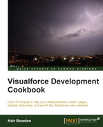 Cover of Visualforce Development Cookbook