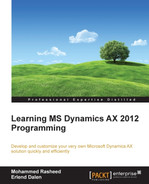 Cover of Learning MS Dynamics AX 2012 Programming