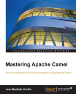Cover of Mastering Apache Camel