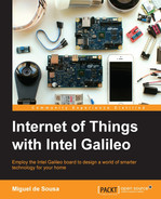 Book cover for Internet of Things with Intel Galileo