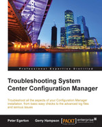 Cover of Troubleshooting System Center Configuration Manager