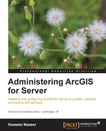 Cover of Administering ArcGIS for Server