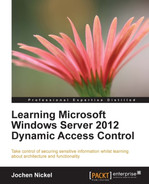 Cover of Learning Microsoft Windows Server 2012 Dynamic Access Control