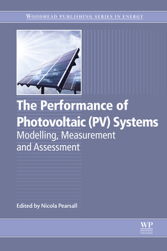 The Performance of Photovoltaic (PV) Systems