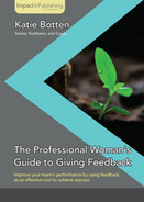 Cover of The Professional Woman's Guide to Giving Feedback