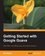 Cover of Getting Started with Google Guava