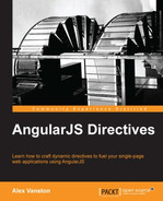 Cover of AngularJS Directives