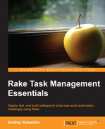 Cover of Rake Task Management Essentials
