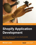 Cover of Shopify Application Development