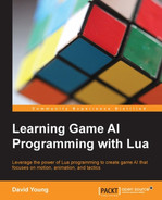 Cover of Learning Game AI Programming with Lua